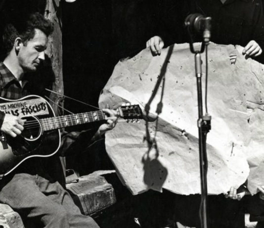 Woody Guthrie Photo Smithsonian Folkways