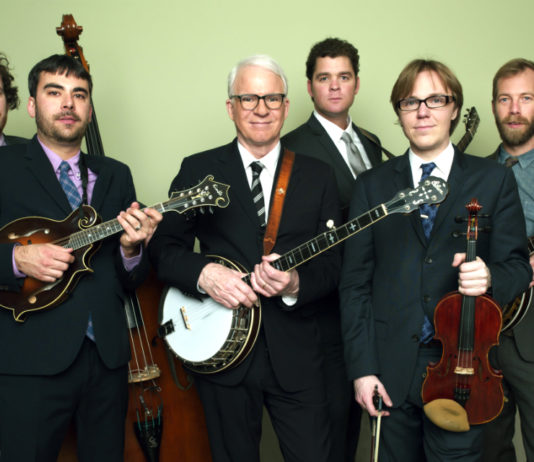 Steep Canyon Rangers with Steve Martin Promotional Photo