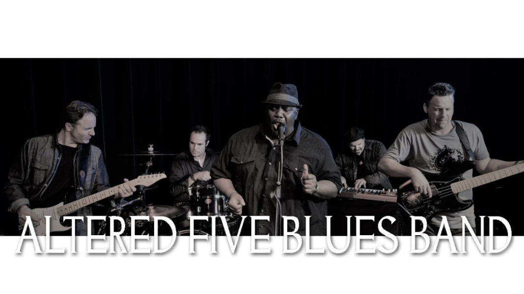 Altered Five Blues Band Mitchell Miller