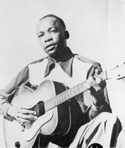 John Lee Hooker 1949 Encyclopedia Britannica