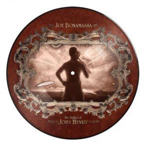 Picture Disc - Joe Bonamassa Ballad of John Henry Bear Family Records