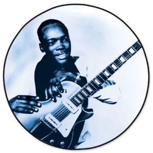 Picture Disc - John Lee Hooker Electric Blues Cleoptra