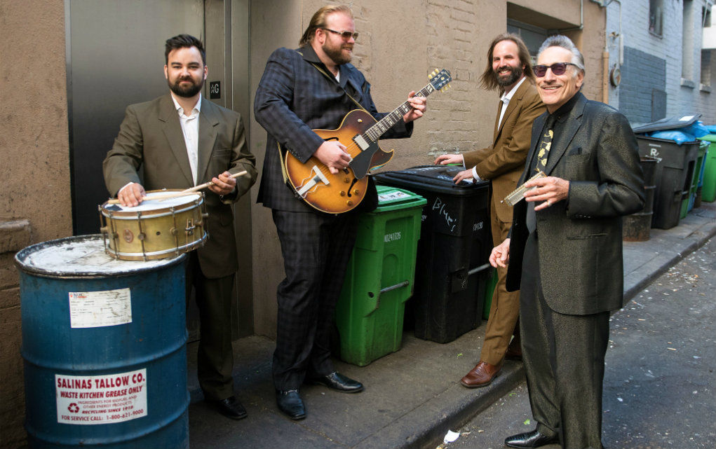 Rick Estrin & The Nightcats Bob Hakins