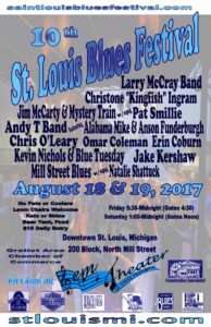 St Louis Blues Fest Final poster June 28