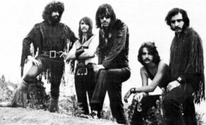 Steppenwolf in 1970 L-R Goldy McJohn, Jerry Edmonton, John Kay, Larry Byrom, George Biondo