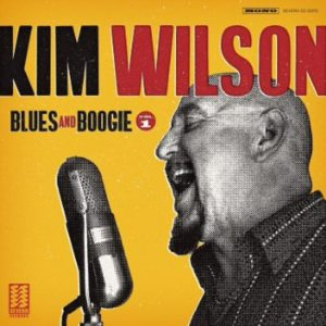 Kim Wilson Blues & Boogie Vol. 1 Album Cover