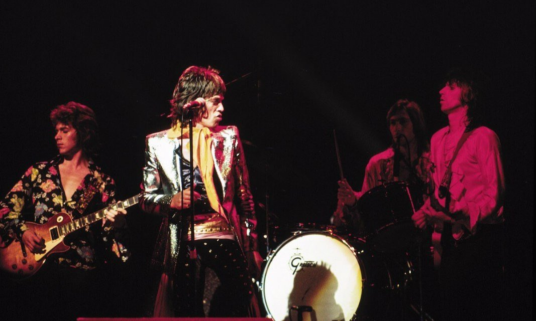 Rolling Stones The Forum 1972 James Fortune Smithsonian Books