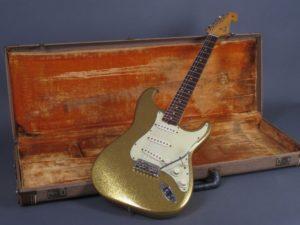 Bob Dylan 1962 Gold Sparkle Fender Stratocaster