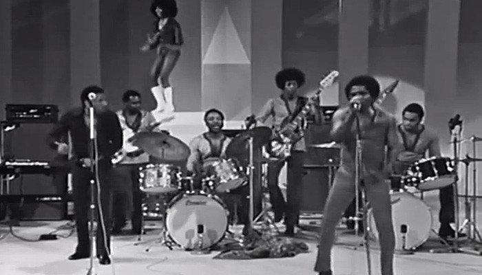 The JBs in 1970