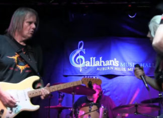 Walter Trout & Eliza Neals at Callahan's August 2017 Feature
