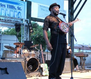 Super Chikan at Sounflower River Blues and Gospel Festival