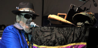 Dr John at King Biscuit Festival 2010