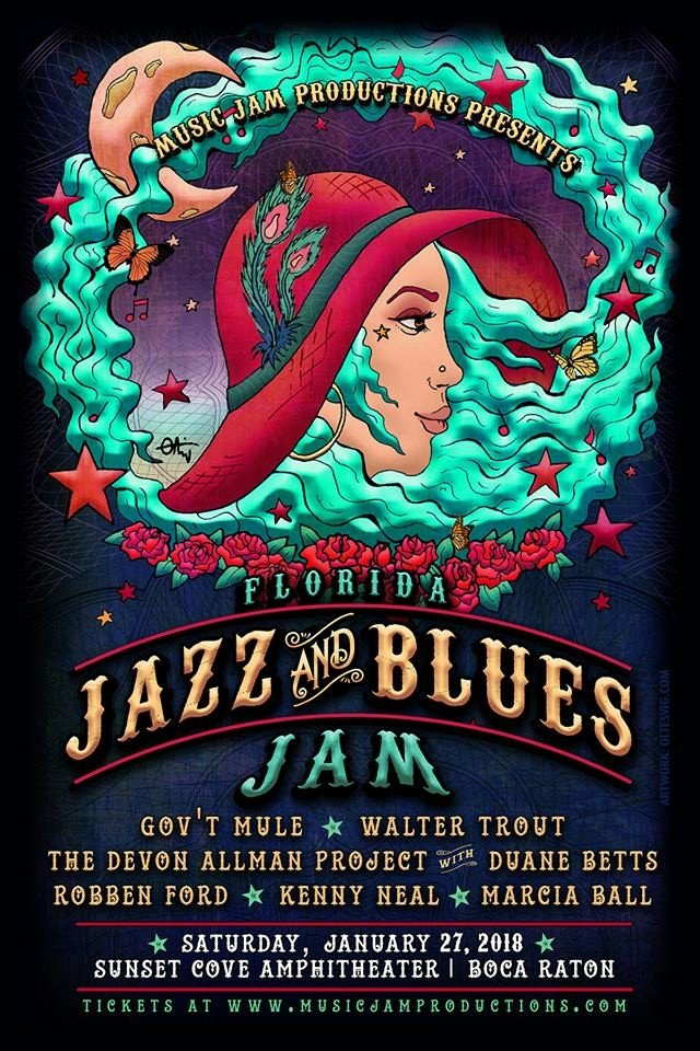 Florida Jazz and Blues Jam 300×600