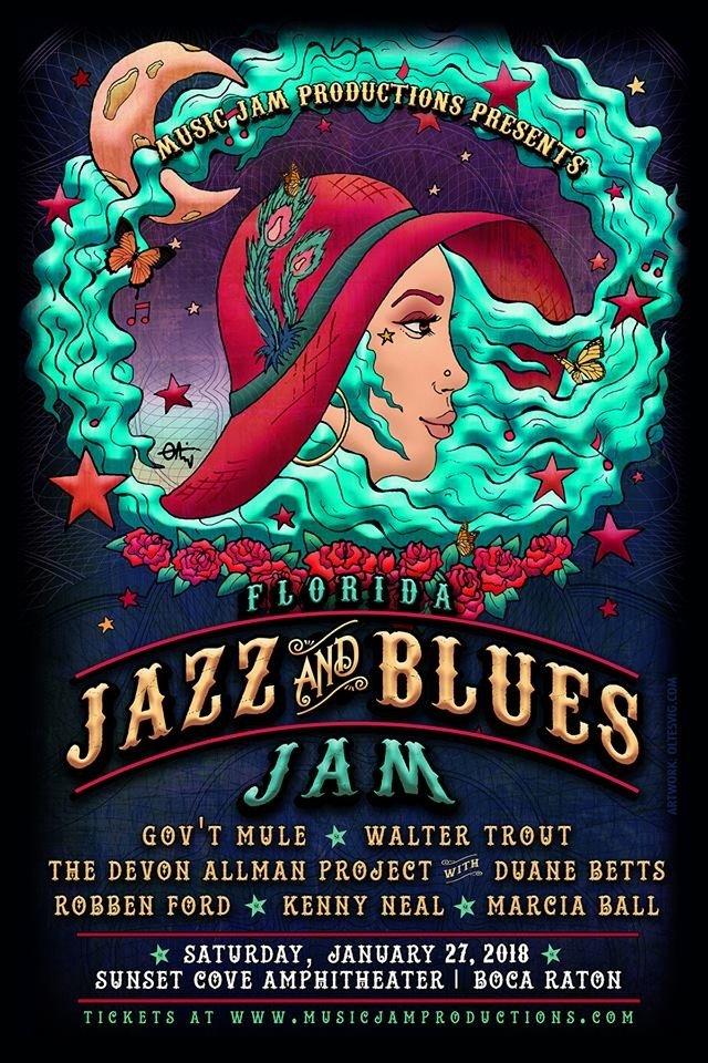 Florida Jazz and Blues Jam 300×600