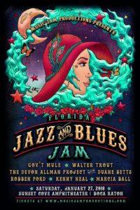 Florida Jazz & Blues Poster Edited
