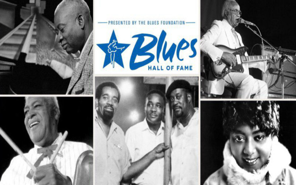 Blues Hall of Fame 2018 Collage