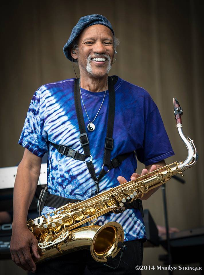 Charles Neville at Chicago Blues Festival Photo Marilyn Stringer