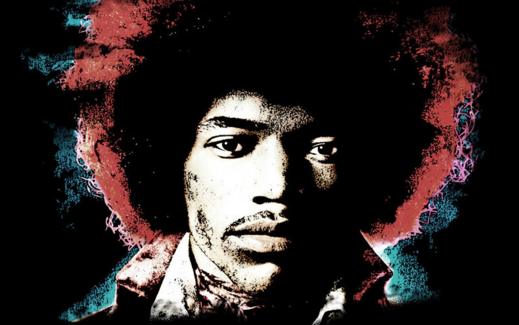 Jimi Hendrix courtesy of Experience Hendrix