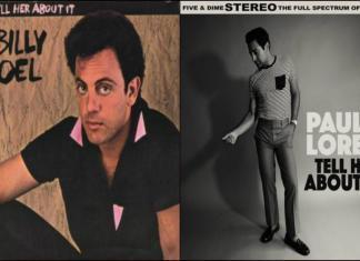 Billy Joel Paul Loren Collage