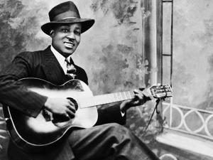 Big Bill Broonzy Studio Portrait