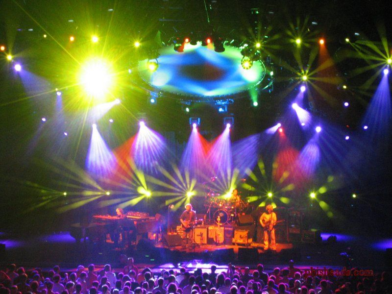 Phish Photo taken by phisheads.com in July 2003 at Alpine Valley in East Troy Wisconsin Adapted from Wikipedia US-public domain