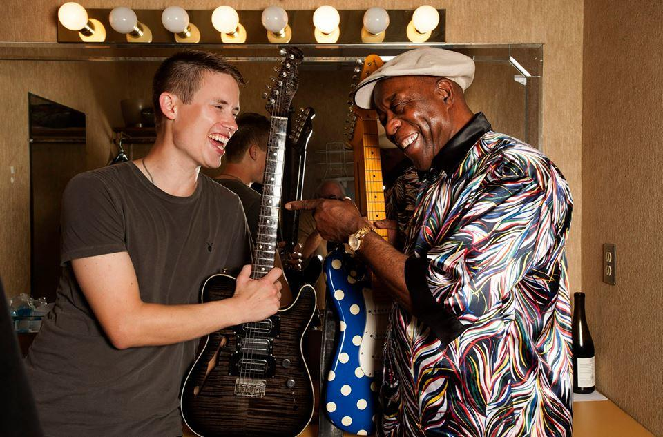 Jonny Lang and Buddy Guy JL Facebook page 2016