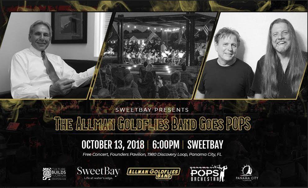 Allman Goldflies Pops Poster