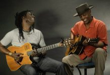 Habib Koité and Eric Bibb-feature-by Patricia de Gorostarzu
