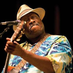 Blues musician Taj Mahal has won three Grammy awards over his long and distinguished career.