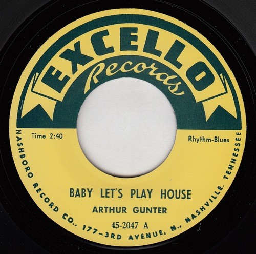 Excello - Baby Lets Play House Label[1]