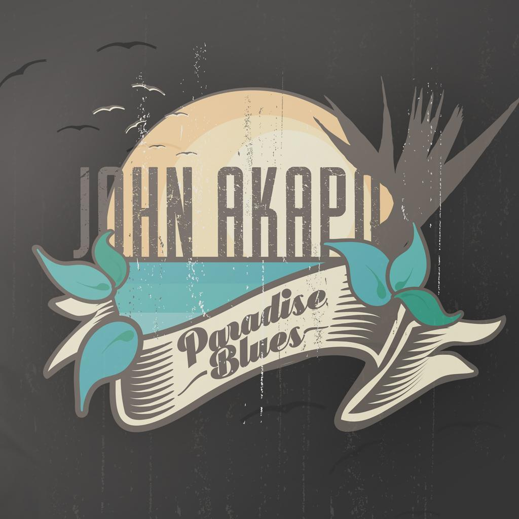 John Akapo Paradise Blues Hi-Res Cover