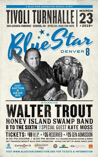 Blue Star Denver 8 Poster