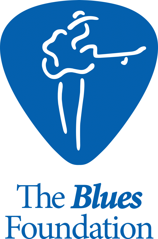 Blues Foundation Logo Vertical