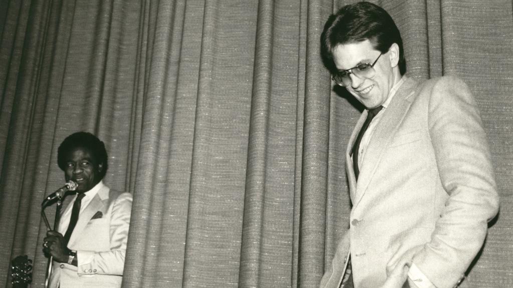 Al Green & Bob Mugge 1