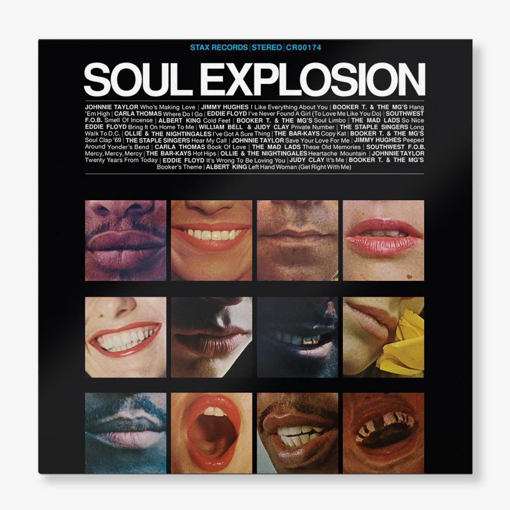 Soul Explosion 2-LP Cover